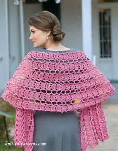 Free Crochet Lace Shawl Pattern