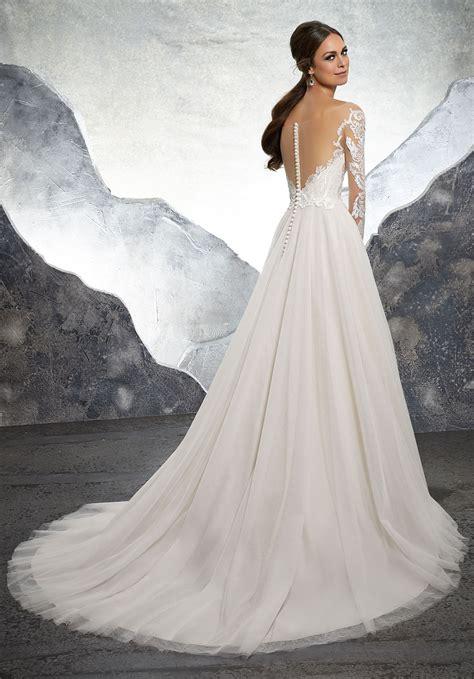 kelsey wedding dress style  morilee