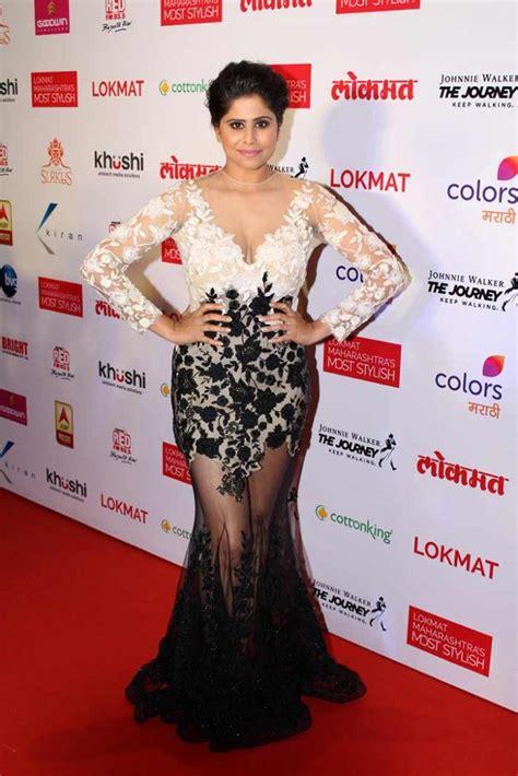 Hot Photos Of Sai Tamhankar Outshining Sonam Kapoor