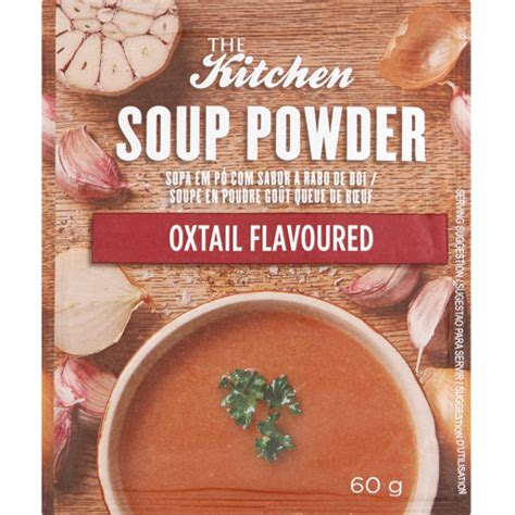 kitchen soup powder oxtail flavoured  soups
