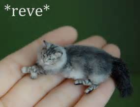 miniture cats miniature cat sculpture by reveminiatures on deviantart