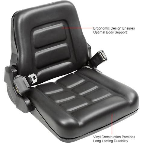 forklifts attachments seats vinyl