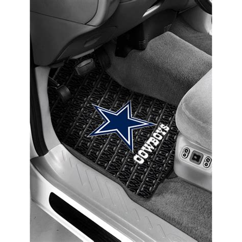 nfl dallas cowboys floor mats set of 2 walmart