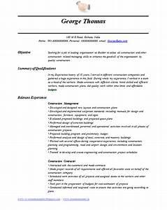 Resume And Cv Resume Format In Dubai