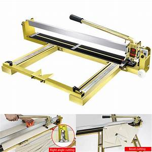 Manual Tile Cutter Machine Professional Cutting Lenght