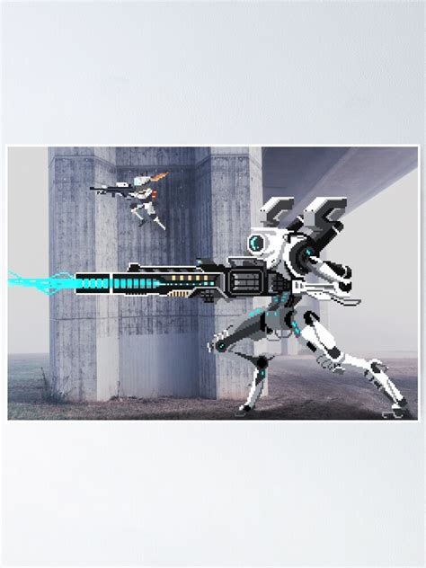 """Snkenr 5 piece video games titanfall 2 spaceship poster soldier artwork pictures canvas paintings fantasy wall art for home decorno framed30x40cm30x60cm30x80cm. """"Titanfall 2 - Become one"""" Poster by RedSenseiArt 