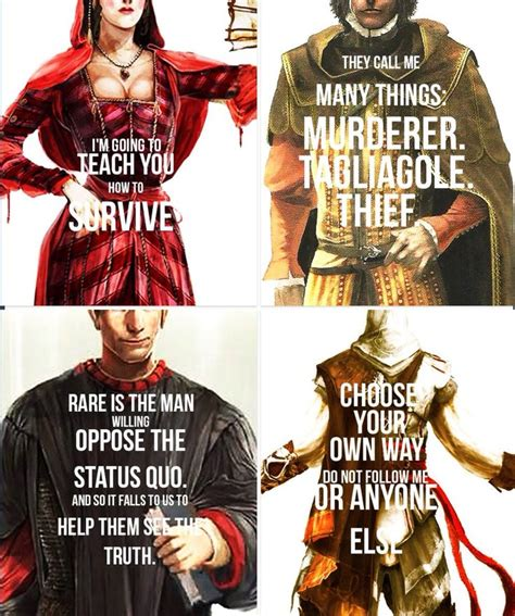 Ac Brotherhood Ezio Quotes