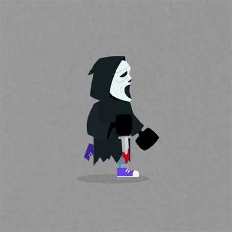 Halloween Michael Myers Gif by Gif Auf Langweiledich Net
