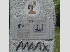 Holocaust memorial in Bulgaria defaced with antiSemitic