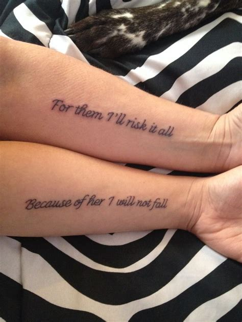Mother Daughter Tattoo Tattoos Pinterest Sons