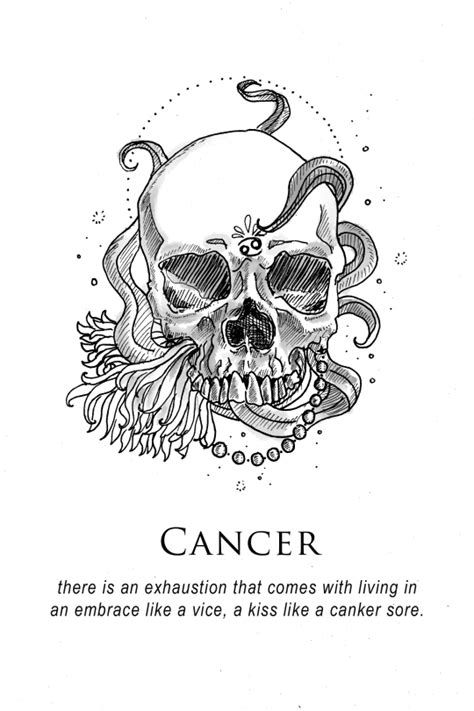 illustration and inanity by amrit brar | Cancer zodiac