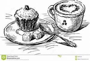 Kaffee Und Kuchen Bilder Kostenlos : kaffee mit kuchen vektor abbildung illustration von cappuccino 29381024 ~ Cokemachineaccidents.com Haus und Dekorationen