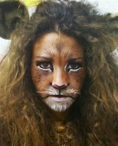 León maquillaje lion makeup lioness | Halloween | Pinterest