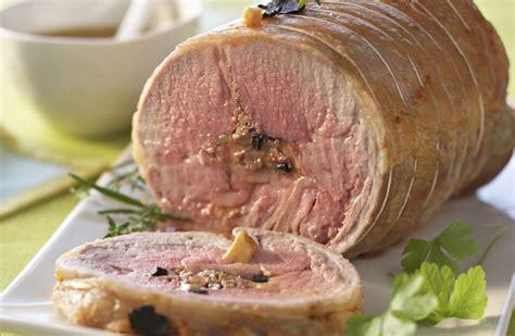 cuisine du sanglier filet d agneau farci au foie gras et truffe