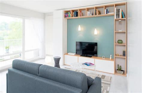 repeindre une chambre en 2 couleurs les meilleures façons d 39 aménager un coin télé une salle