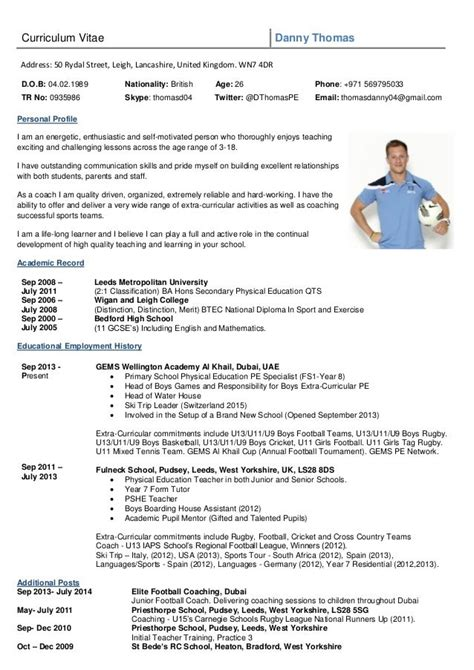 Soccer Resume Template by Image Result For Rugby Cv Template Exercises College