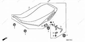 Honda Atv 2006 Oem Parts Diagram For Seat   U0026 39 06