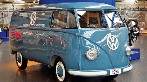 volkswagen bulli 1950 vw museum zeigt t1 bulli autogazette de
