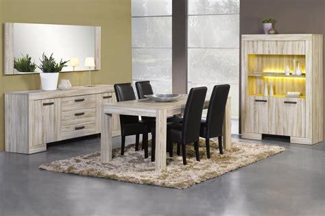 indogate salle manger chene gris collection et salle a manger complete design pas cher