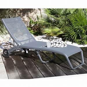 Bain De Soleil Gris : bain de soleil folio aluminium textil ne gris 189 x 60 x ~ Dode.kayakingforconservation.com Idées de Décoration