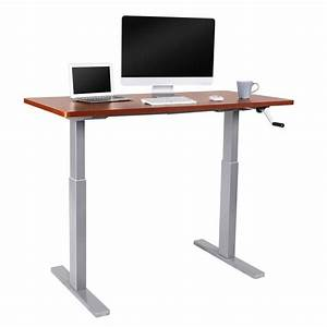 Shop Flexispot 55 U0026quot W Manual Height Adjustable Sit Stand