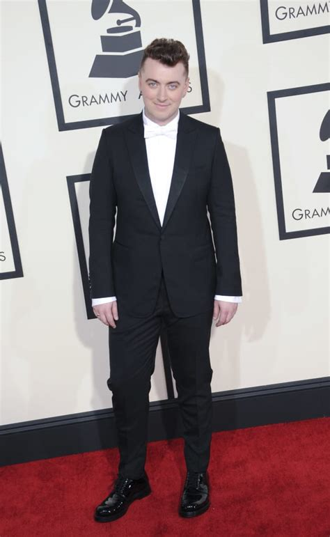 Sam Smith at the 2015 Grammys - The Hollywood Gossip
