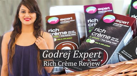 Godrej Expert Rich Crème Review || Hair Colouring