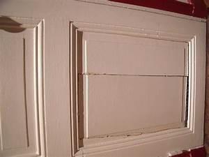 reparer porte interieure cassee With reparer une porte en bois fissuree
