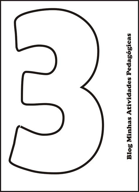 Moldes De Numeros Para Imprimir 6  Kid Crafts Numbers