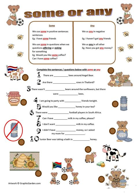 worksheets some any some or any worksheet free esl printable worksheets made
