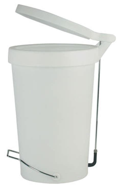 poubelle 224 p 233 dale tip 30 litres blanc gris authentics