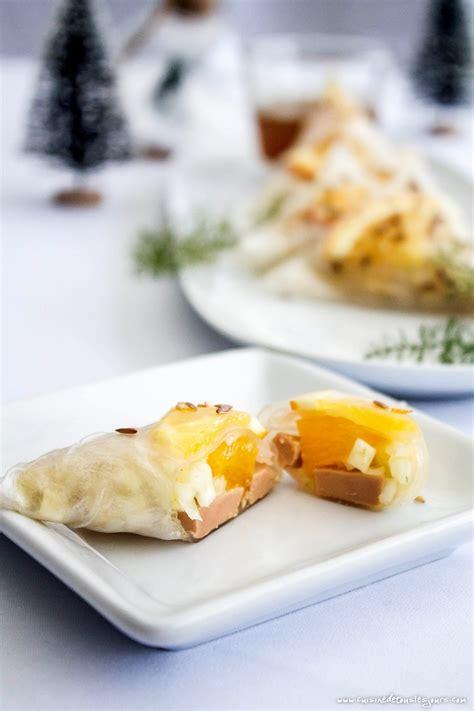 cuisiner les coques triangles de foie gras au fenouil et à l orange recette