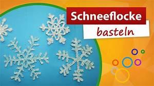 Basteln Winter Kinder : schneeflocke basteln bastelideen winter gratis bastelanleitung trendmarkt24 youtube ~ Frokenaadalensverden.com Haus und Dekorationen