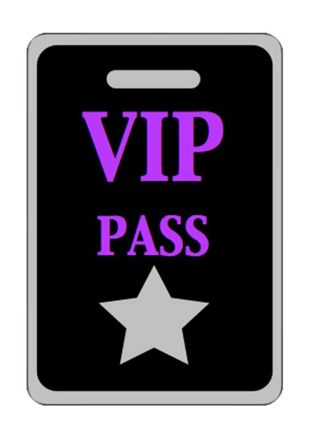 vip pass the gallery for gt vip ticket template