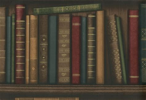 Wallpaper Bookcase Design by Bookcase Wallpapers And Borders To Buy