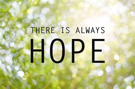 hope   key  successful recovery  recovery