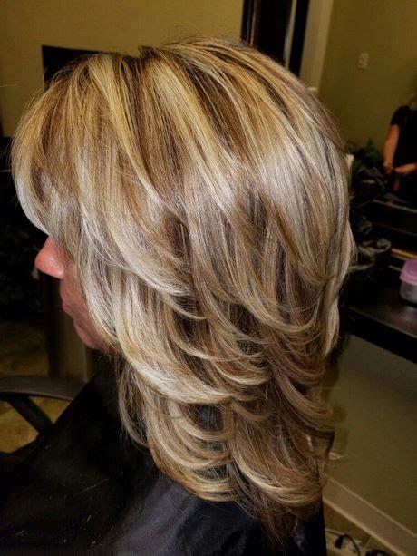 corte cabello mediano en capas belleza  estilo