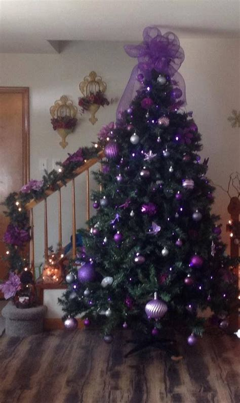 purple decorated christmas trees 25 best ideas about purple christmas tree on 5322