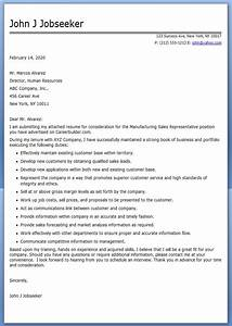 Manufacturing Sales Cover Letter Resume Downloads Cover Letter For Sales Assistant Sales Representative Cover Letter Examples Accounting Sales Manager CV Example Free CV Template Sales
