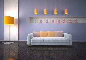 Wand Streichen Ideen : ideen zum wohnzimmer streichen 5 kreative beispiele ~ Markanthonyermac.com Haus und Dekorationen