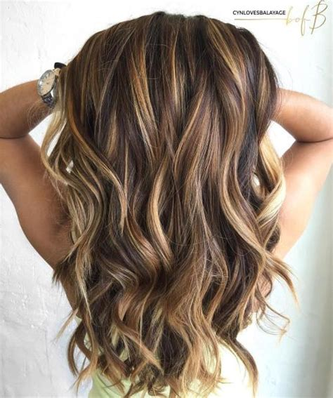 light brown hair with caramel highlights 60 looks with caramel highlights on brown and dark brown hair