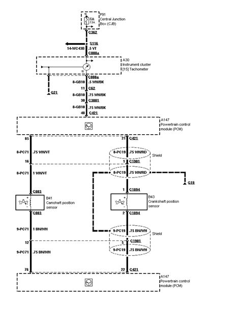 2000 Ford Contour Radio Wire Diagram by 1998 Ford Contour Diagrams