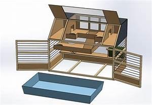 Cage A Cochon D Inde : fabrication de cages artisanales pour petits animaux ~ Dallasstarsshop.com Idées de Décoration