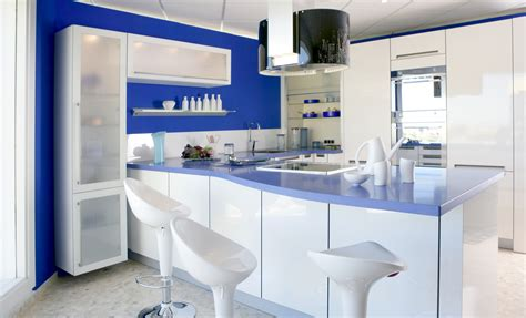 ideas for a backsplash in kitchen inspiring blue kitchen décor ideas homesfeed