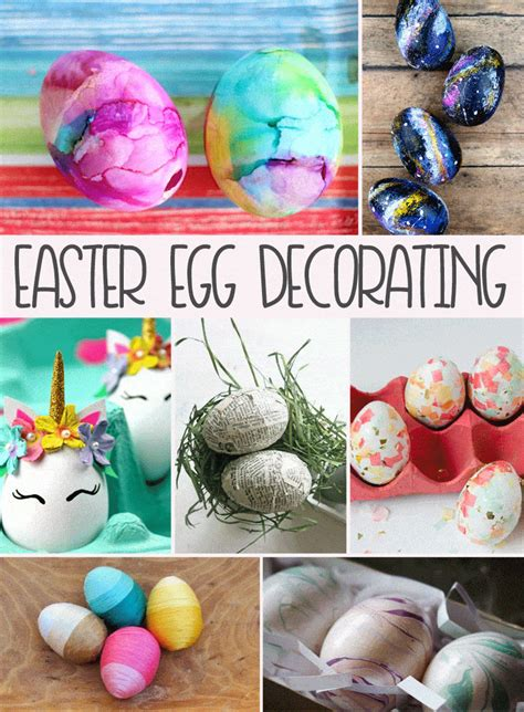 Decorating Ideas For Easter Eggs by Easter Egg Decorating Ideas Domestically Speaking