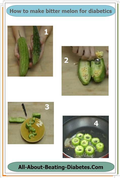 simple bitter melon diabetes recipe