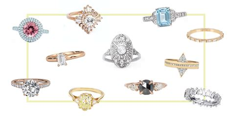 best new engagement ring styles in 2017 vintage non traditional engagement rings