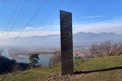 romania monolith disappears days   discovered