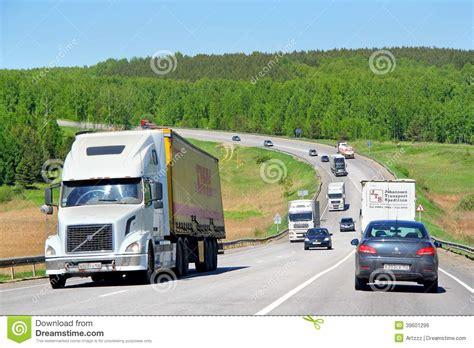 volvo highway volvo vnl64t editorial photo image 39601296