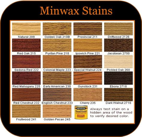minwax stain colors ideas  pinterest stain